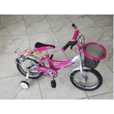 Велосипед  ДЕСНА на 14 розовый