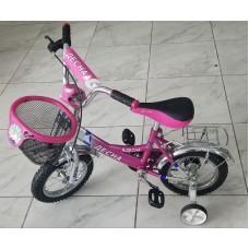 Велосипед  ДЕСНА на 12 розовый