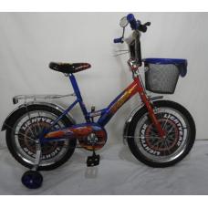 Велосипед CROSSER Cars на 12 сине/красный