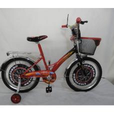 Велосипед CROSSER Cars на 12 красно/чёрный