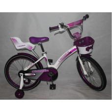 Велосипед CROSSER C3 на 18 фиолетовый