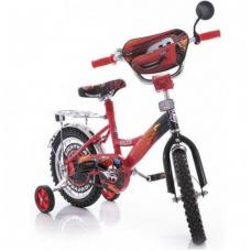 Велосипед CROSSER Cars на 16 красно/чёрный