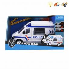 Машина полиция с муз. и светом.
