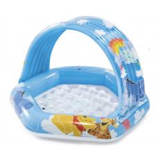 Детский надувной бассейн Винни Пух 109x102x71cm, 41Л, 1-3 лет
