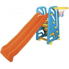 Горка с баскетболом