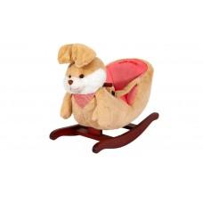 Кресло-качалка зайка коричневый