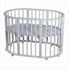 Детская кроватка *MIRACOLO AMORE* белая