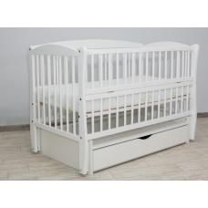 Кроватка ELITE II белая
