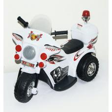 Электро мотоцикл , белый.