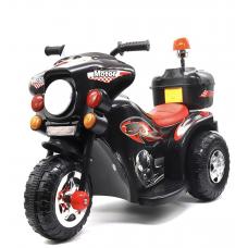 Электро мотоцикл черный.