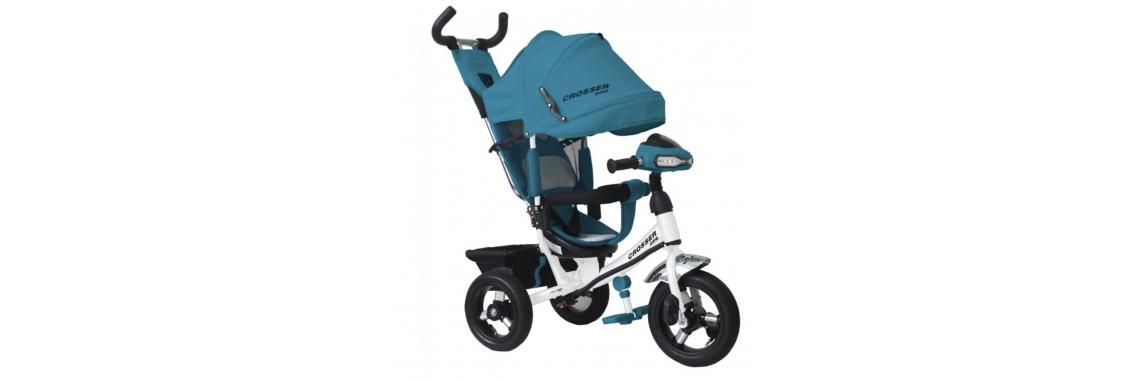 Велосипед CROSSER T-1 AIR голубой